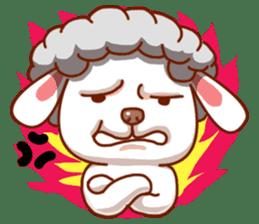 Yandee cute sheep sticker #6719639