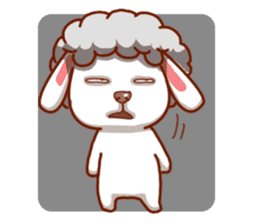 Yandee cute sheep sticker #6719640
