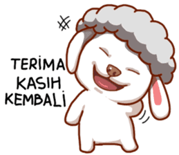 Yandee cute sheep sticker #6719644