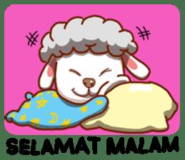 Yandee cute sheep sticker #6719645