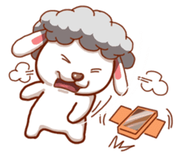 Yandee cute sheep sticker #6719647