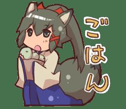 KITSUNEMIKO2 sticker #6721823