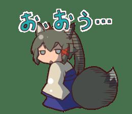 KITSUNEMIKO2 sticker #6721825