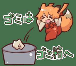KITSUNEMIKO2 sticker #6721846