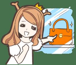 My Deer Princess (Eng) sticker #6724732