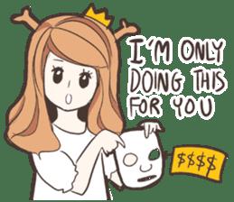 My Deer Princess (Eng) sticker #6724735