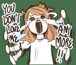 My Deer Princess (Eng) sticker #6724747