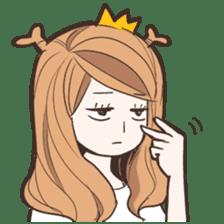 My Deer Princess (Eng) sticker #6724748