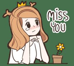 My Deer Princess (Eng) sticker #6724760