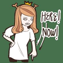 My Deer Princess (Eng) sticker #6724762