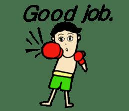 fighter-kickboxing-muaythai-boxing sticker #6729930