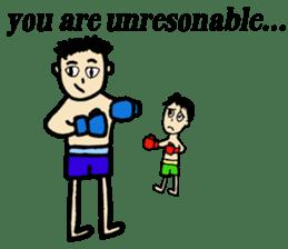 fighter-kickboxing-muaythai-boxing sticker #6729931