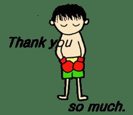fighter-kickboxing-muaythai-boxing sticker #6729938
