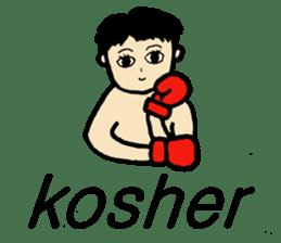 fighter-kickboxing-muaythai-boxing sticker #6729941