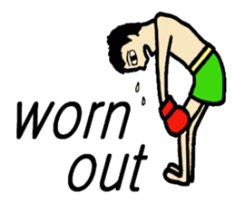 fighter-kickboxing-muaythai-boxing sticker #6729954