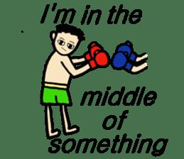 fighter-kickboxing-muaythai-boxing sticker #6729956