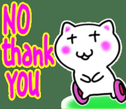 Wheelchair Sticker Very pretty cat sticker #6731695