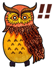 OWL Museum 6 sticker #6734339
