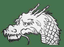 Japanese Dragon sticker #6734489