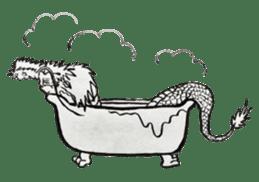 Japanese Dragon sticker #6734497