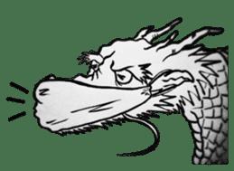 Japanese Dragon sticker #6734499