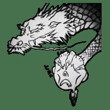 Japanese Dragon sticker #6734501