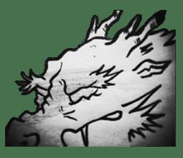 Japanese Dragon sticker #6734504