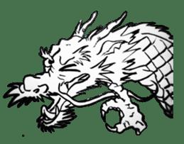 Japanese Dragon sticker #6734510