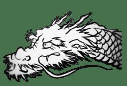 Japanese Dragon sticker #6734514