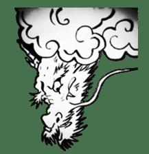 Japanese Dragon sticker #6734515