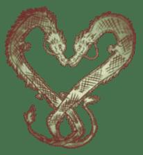 Japanese Dragon sticker #6734518