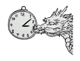 Japanese Dragon sticker #6734526