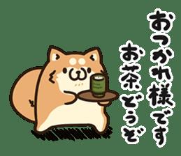 Plump dog  (Affection) sticker #6746528