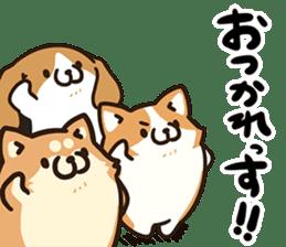 Plump dog  (Affection) sticker #6746529