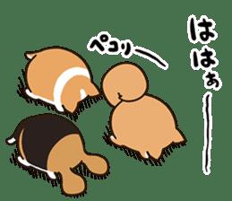Plump dog  (Affection) sticker #6746555
