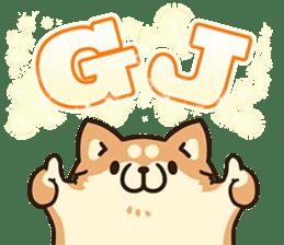 Plump dog  (Affection) sticker #6746556