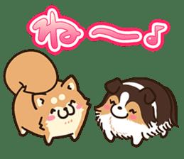 Plump dog  (Affection) sticker #6746563