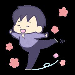 Figure skater Fuji-kun