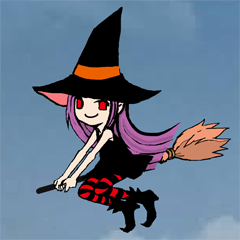 witch sticker
