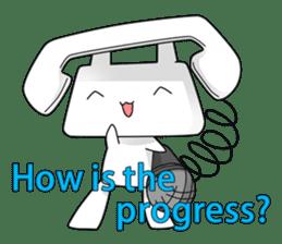 TELU-CHAN (Phone fairy, Telu-chan en) sticker #6761331