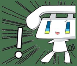 TELU-CHAN (Phone fairy, Telu-chan en) sticker #6761334