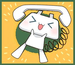 TELU-CHAN (Phone fairy, Telu-chan en) sticker #6761336