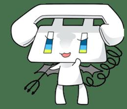 TELU-CHAN (Phone fairy, Telu-chan en) sticker #6761338