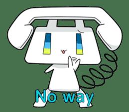 TELU-CHAN (Phone fairy, Telu-chan en) sticker #6761340
