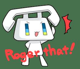 TELU-CHAN (Phone fairy, Telu-chan en) sticker #6761348