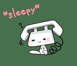 TELU-CHAN (Phone fairy, Telu-chan en) sticker #6761349
