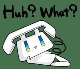 TELU-CHAN (Phone fairy, Telu-chan en) sticker #6761355