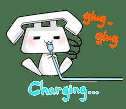 TELU-CHAN (Phone fairy, Telu-chan en) sticker #6761360