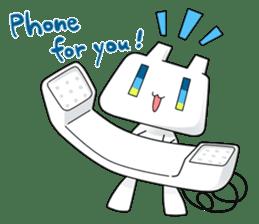 TELU-CHAN (Phone fairy, Telu-chan en) sticker #6761361
