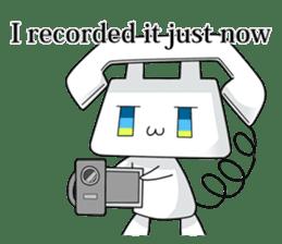 TELU-CHAN (Phone fairy, Telu-chan en) sticker #6761363
